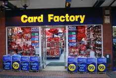 ALL Christmas stock 1/2 price at card factory 30p