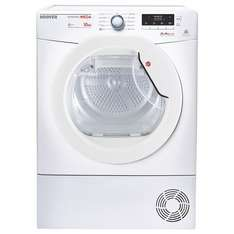 Hoover Dynamic Mega DMHD1013A2 Freestanding Heat Pump Tumble Dryer, 10kg Load, A++ Energy Rating, White £279.99 @ John lewis
