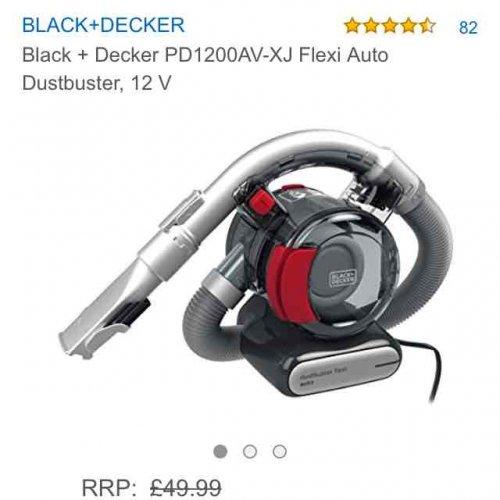 Black + Decker PD1200AV-XJ Flexi Auto Dustbuster - £32.34 @ Amazon
