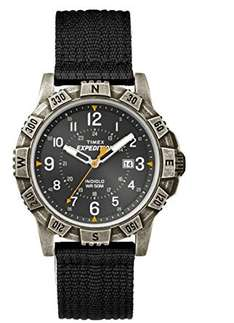 Timex Expedition with black leather strap - £15.31 prime / £19.30 non prime sold by Amazon