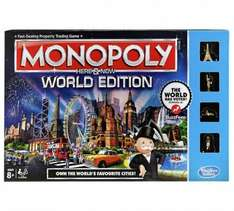 Monopoly here and now world edition £12.99 @ Argos