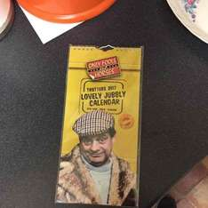 Only Fools and Horses 2017 £1.00 Calendar in Poundland *officially cushty*