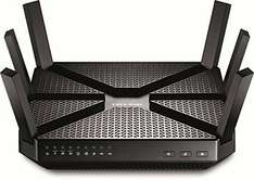 TP-LINK Archer C3200 Tri-Band Wireless Gigabit Cable Gaming Router £114.99 @ Amazon