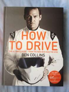 Ben Collins: How To Drive hardback £1 at Poundland