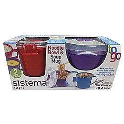 Sistema soup & noodle bowl set £4.75 at Tesco in store & online
