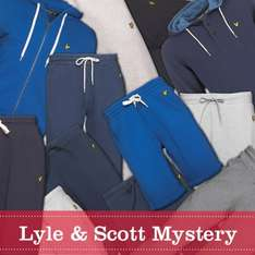 Lyle And Scott Vintage Mens Mystery Shop Sweater S+M left £16.99 @M and M direct (+£4.49 postage)