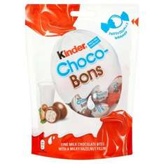 Kinder chocolate bons reduced to 81p at tesco