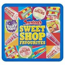 Big Tin Box Of Sweet Shop Favourites 750g  Reduced To £2 @ Asda Wolverhampton Road.