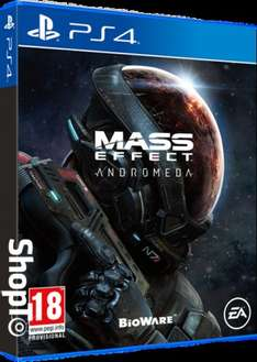 Mass Effect Andromeda Pre Order £39.85 Xbox One/PS4 at Shopto