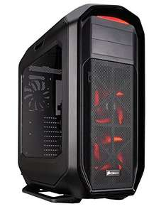Corsair 780T Graphite Series Windowed Full Tower ATX Gaming Case with LED Fan - Black/Red at Amazon for £136.95