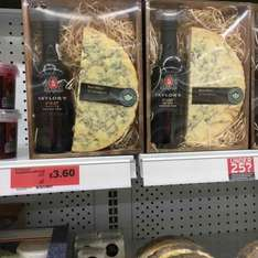 taylors first port & blue Stilton cheese gift pack now £3.60 was £12 in store @ Sainsbury's (or Stilton on its own just 90 pence)