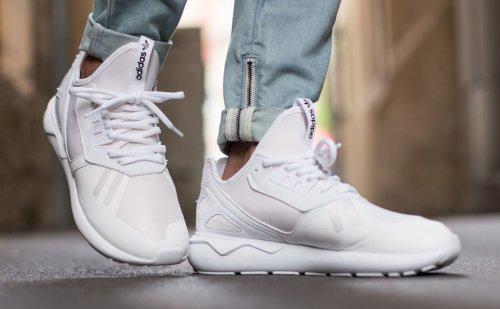 Men's addidas originals tubular white, less than half price £32.39 +£3.95p&p with code