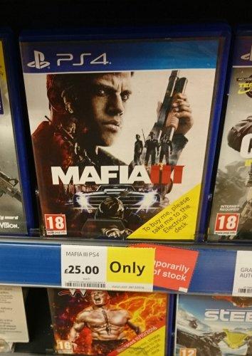 Mafia III (PS4) £25 in-store at Tesco