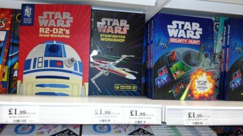 Star Wars Books £1.99 at Home Bargains instore