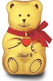 Lindt Chocolate bear 100g 62p at Waitrose colchester