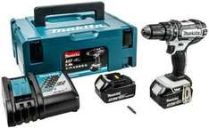 MAKITA DHP482RFW inc. stacking case and 2x3ah batteries 18v - Plumbcentre for £119.99