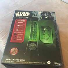 lots of Star Wars merchandise at Sainsbury's on sale including this light reduced to £7.50 from £25.00