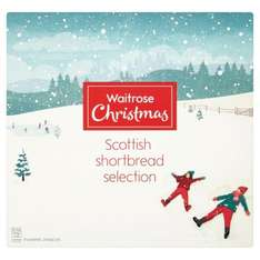 waitrose Christmas shortbread selection - 50p instore