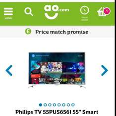"""Philips 55"""" Smart TV - AO Price Match Promise! Only 3 left!! - £799 / poss get it for £669.99 see description"""