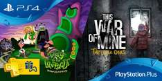 PlayStation Plus January 2017 (Day of the Tentacle Remastered, This War of Mine, Blazerush, The Swindle, Azkend 2, Titan Souls)