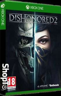 dishonored 2 xb1 & ps4 £22.85 @ shopto