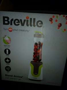 Breville Active Blend scanning in as £12.50 @ Sainsbury's
