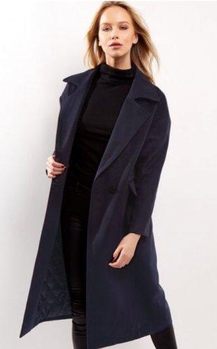 New Look Navy Maxi Coat £18 / £21.99 del / c&c