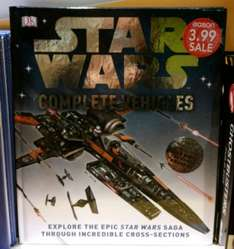 DK Star Wars Complete Vehicles Book - £3.99 at Eason instore