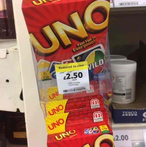 UNO £2.50 Instore @ Tesco
