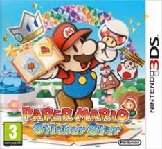 [Original Print] Paper Mario: Sticker Star (3DS) - £14.95 @ Sold by The Game Collection at GAME