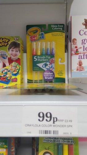 Crayola Wonder Pens. 99p @ Home Bargains
