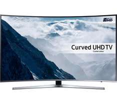 "Samsung  UE49KU6670 Smart 4k Ultra HD HDR 49"" Curved TV - £649 @ Curry's"