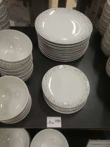 Wilko Sparkle Dinner Plate - £1 instore