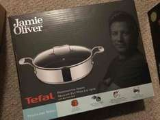 Jamie Oliver Professional Series Shallow Pan With Lid 25cm £11.99 @ Costco