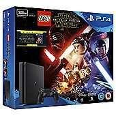PS4 Slim 500GB LEGO Star Wars and The Force Awakens (Blu-ray) Console Bundle Black (D Chassis) +Fifa 17 and Call of Duty: Infinite Warfare PS4 at Tesco Direct for £226.99