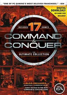 All 17 Command & Conquer Titles The Ultimate Collection @ Origin - £6.24