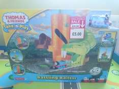 Thomas and Friends 'Take n Play' Rattling RailsssRailss (was £24.99) - Toymaster Dereham (in-store) for £5
