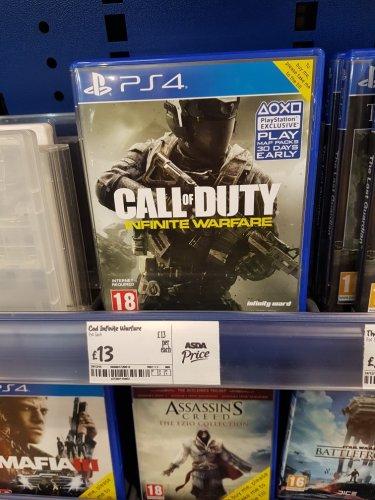 Call of Duty Infinite Warfare instore at Asda for £13
