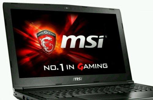 MSI GL62 6QD Gaming Laptop at Ebuyer for £599.97