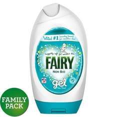 Fairy Non Bio Washing Gel 24 washes 888ml £3.50 @ Morrisons
