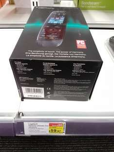logitec remote £59.97 @ Currys instore