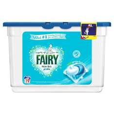 Fairy Non Bio Washing Capsules 19 washes 19 per pack @ Morrisons