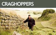 50% off full priced items at Craghoppers