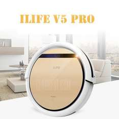 ILIFE V5 Pro Smart Robotic Vacuum Cleaner Champagne Gold - £84.93 (€99.62) with code at Gearbest