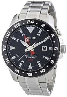 Seiko Kinetic men's stainless steel bracelet watch £135 (save £244) @ Ernest Jones