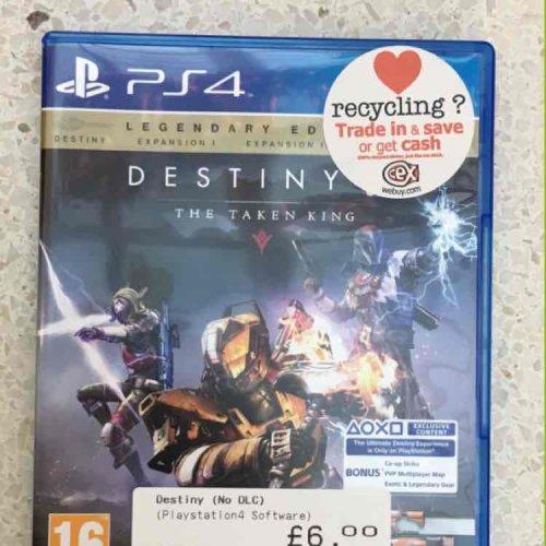legendary  edition destiny ps4 £6 @ cex instore