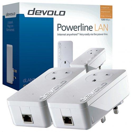 Devolo dLAN 1200+ Powerline Starter Kit £59.98 @ John Lewis