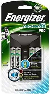 Battery Charger with 4 aa rechargeable batteries £11.99 (Prime) @ Amazon