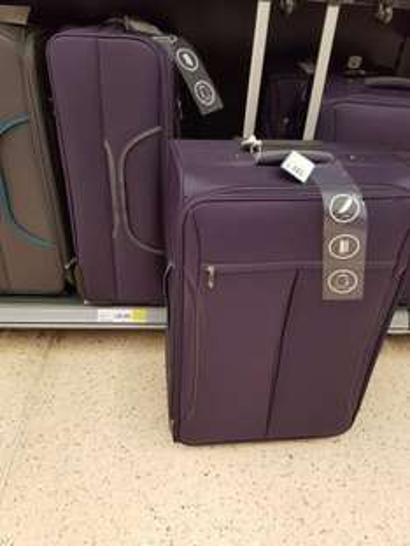 large luggage  £20 instore at tesco