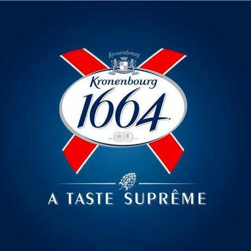 Case of 12 X Kronenbourg 1664 bottles beer 7.99 instore @ b&m